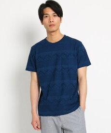 THE SHOP TK(Men)(ザ ショップ ティーケー(メンズ))リンクスジャガードTシャツ