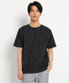 THE SHOP TK(Men)(ザ ショップ ティーケー(メンズ))ボタニカル総柄Tシャツ