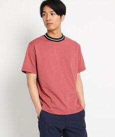 THE SHOP TK(Men)(ザ ショップ ティーケー(メンズ))ラインリブTシャツ