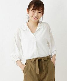 SHOO・LA・RUE/DRESKIP(シューラルー/ドレスキップ)楊柳スキッパーシャツSET