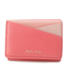 pink adobe(ピンクアドベ)Lagato Largo カラフル3配色切り替えミニ財布