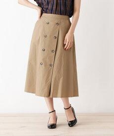 grove(グローブ)【WEB限定】フロントボタンAラインフレアスカート