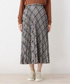 grove(グローブ)【WEB限定サイズあり】チェックプリーツスカート