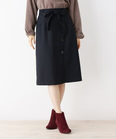 grove(グローブ)ウール調合繊ラップ風スカート