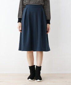 grove(グローブ)【LLあり】ポンチ裏起毛スカート