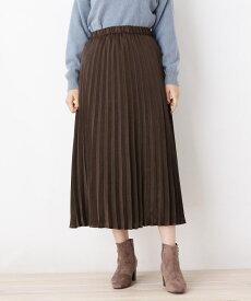 grove(グローブ)サテンプリーツスカート