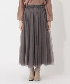 grove(グローブ)【S-LL】チュールボリュームフレアスカート