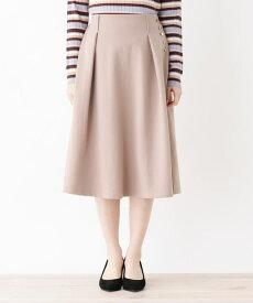 grove(グローブ)【S-LLまで】サイドボタンAラインスカート