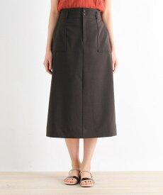 grove(グローブ)【S-LLまで】防しわ/接触冷感/UV/洗える麻調スカート