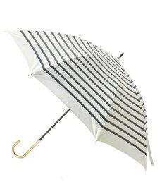 grove(グローブ)遮光遮熱ロープボーダーパラソル(長傘)