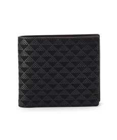 TAKEO KIKUCHI(タケオキクチ)印伝 波鱗柄 2つ折り財布