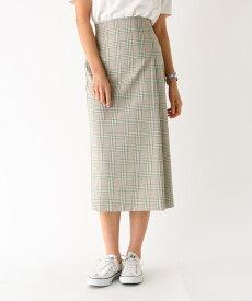 aquagirl/l'epicerie(アクアガール/レピスリー)スプリングチェックタイトスカート