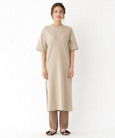 aquagirl/l'epicerie(アクアガール/レピスリー)Tシャツスリットワンピース