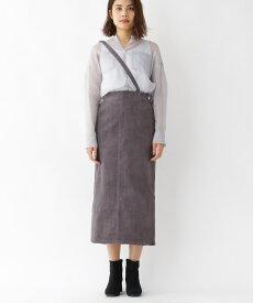 aquagirl/l'epicerie(アクアガール/レピスリー)コーデュロイ2WAYワンサスタイトスカート