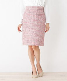index(インデックス)【洗える】サマーツィード タイトスカート