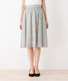 index(インデックス)【洗える・42(LL)WEB限定サイズ】ひざ丈ギャザースカート