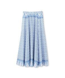 JET(ジェット)【洗える】ボヘミアンプリント ロングスカート