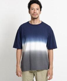 OPAQUE.CLIP(オペークドットクリップ)◆グラデーションダイTシャツ