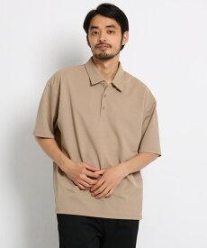 OPAQUE.CLIP(オペークドットクリップ)◆カノコビッグポロシャツ