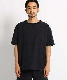 OPAQUE.CLIP(オペークドットクリップ)◆4wayクロス ポケットTシャツ
