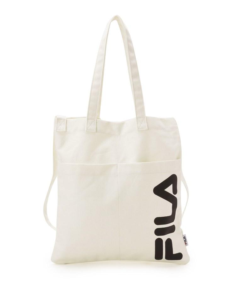 SHOO・LA・RUE/DRESKIP(シューラルー/ドレスキップ)【FILA】【2WAY】別注シンプルトートバッグ