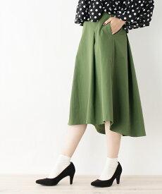 grove(グローブ)PARLMASEL コットンライクバックテールスカート