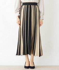 grove(グローブ)FURRY RATE 配色アンブレラニットスカート