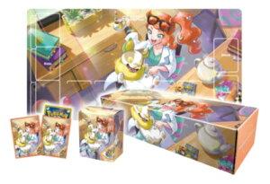 ポケモンカードゲーム ソード&シールド ラバープレイマットセット ソニア