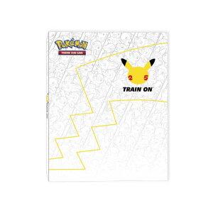 海外版 ポケモンカード 25周年記念特別バインダー ファースト・パートナー・コレクターズ・バインダー Pokemon First Partner Collector's Binder 代引不可商品