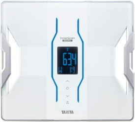 タニタ 体重 体組成計 インナースキャンデュアル ホワイト アプリでスマホと連携 RD906WH