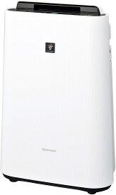シャープ 加湿 空気清浄機 プラズマクラスター 7000 スタンダード 13畳 / 空気清浄 23畳 2018年モデル ホワイト KC-J50-W