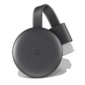 Google グーグル Chromecast クロームキャスト GA00439-JP チャコール 第三世代 2K対応