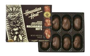 ハワイアンホスト マカダミアナッツ チョコレート 4oz 8粒 HawaiianHost ハワイアンホースト マカデミアナッツ 海外 輸入菓子 送料無料 クール便 ハワイ お土産