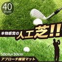 ゴルフ練習マット 本物の天然芝そっくりの人工芝アプローチマット【4cm】【リアルターフ】【高密度】【高品質】【ゴルフの自宅練習場】【ゴルフ練習マット】