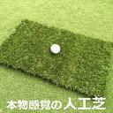ゴルフ練習マット 本物の天然芝そっくりの人工芝アプローチマット【4cm】【リアルターフ】【高密度】【高品質】【ゴル…