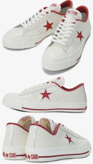 It is a Converse one star J WHTRED converse ONESTAR J men low-frequency cut sneaker (some areas are excluded)