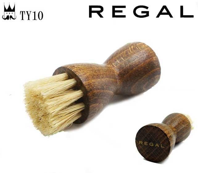リーガル REGAL シューケア用品 アプローチブラシ TY10 お手入れ 豚毛 細部 手が汚れない クリーム シューブラシ evid