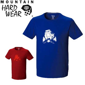マウンテンハードウェア OM5823 ヤックO2ショートスリーブ T メンズ MOUNTAIN HARDWEAR MHW Yak O2 Short Sleeve アウトドア Tシャツ