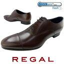 【送料無料】リーガル 靴 メンズ REGAL ビジネスシューズ 革靴 紳士靴 ストレートチップ ビジネスシューズ クールマックス メイドイン…