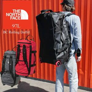 【送料無料】ザ・ノースフェイス THE NORTH FACE NM81902 BCローリングダッフル バッグ メンズ レディース 97L リュック ホイールバッグ キャリーバッグ 旅行 遠征 出張 ホイール付き キャスター付