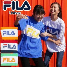 フィラ FILA メンズ レディース ジュニア キリカエTシャツ 半袖 半そで FM5183 ユニセックス スポーツ スポーティー |3 【メール便送料無料】evid【p】