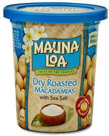 マウナロア 4.5oz缶 マカダミアナッツ ドライ ロースト(塩味)