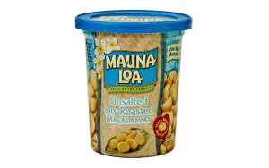 マウナロア 4.5oz缶 無塩マカデミアナッツ 127g