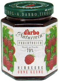 ダルボ ダブルフルーツジャム ラズベリー200g