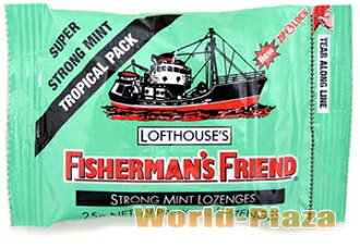 Fishermen friend Strong mint (green)