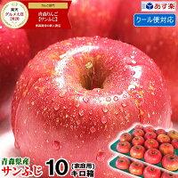 青森りんごふじ10キロ箱