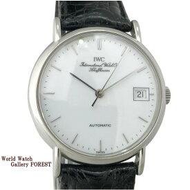 【中古】IWC ポートフィノ IW351320 筆記体ロゴ 魚リューズ 自動巻き メンズ腕時計 箱 保証書付き