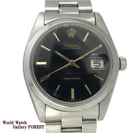ROLEX ロレックス オイスター デイト プレシジョン Ref:6694 アンティーク ヴィンテージ SS 手巻き 中古 メンズ腕時計