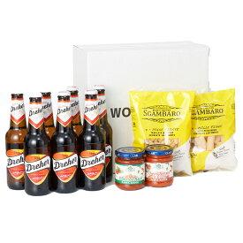 おうちでイタリアンセット ドレハービール7本 パスタ2種 パスタソース2種 クラフトビール お試し 飲み比べ 詰め合わせ セット