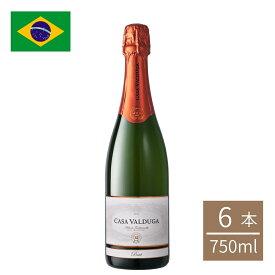 ブラジル アルテ・トラディショナルブリュット瓶 750ml 6本入 スパークリングワイン ブラジルワイン